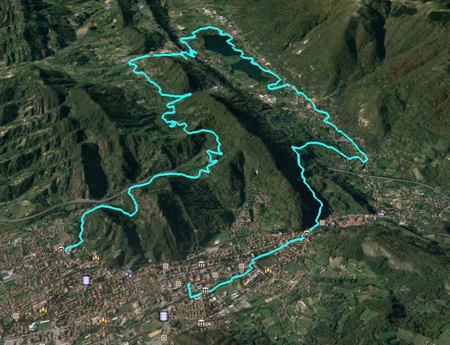 E-bike tour dei Laghi