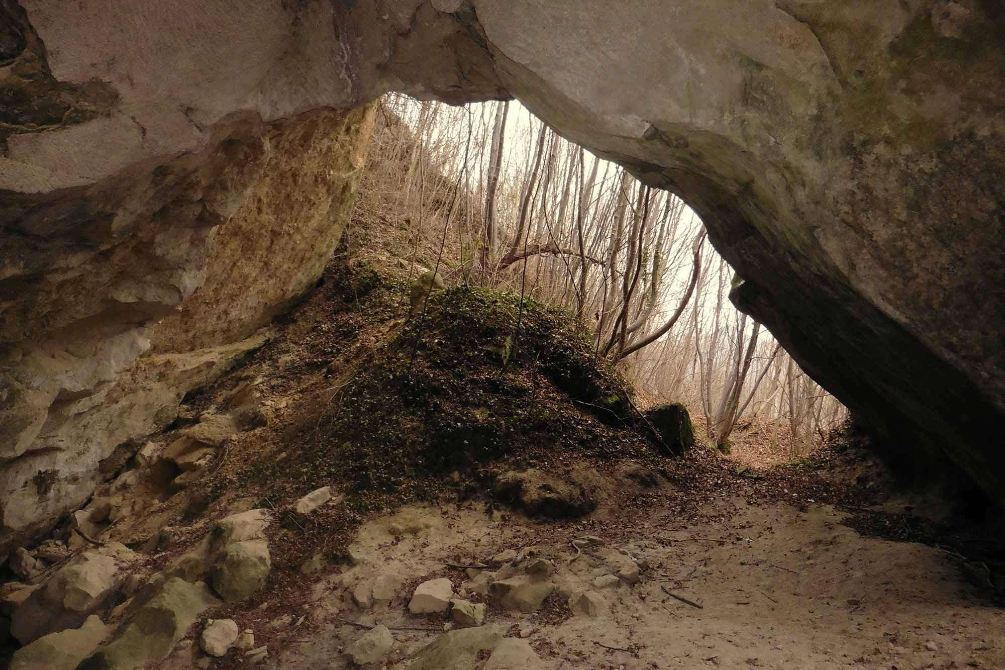 Le grotte segrete della piera dolza