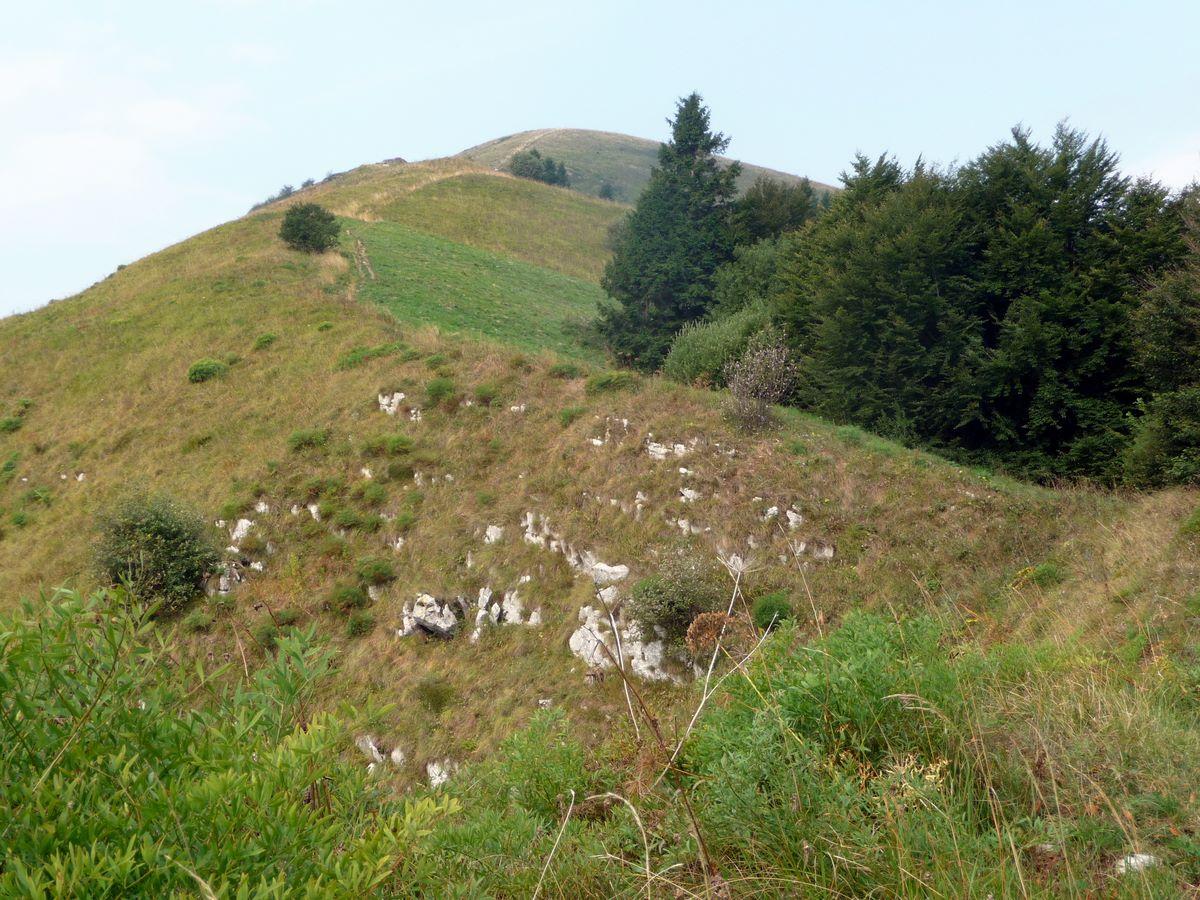 percorso durante il trekking